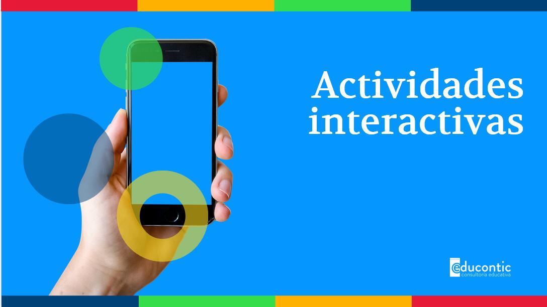 ACTIVIDADES INTERACTIVAS- ALÍATE CON LAS TIC